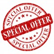 Stock Photo: Special offer stamp