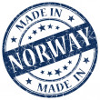Made in norway stamp — Stock Photo #25850463