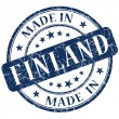 Stock Photo: Made in finland stamp