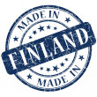 Made in finland stamp — Stock Photo