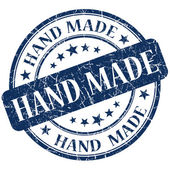 Hand made stamp — Stock Photo