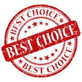 Best choice stamp — Stock Photo
