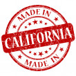Made in californistamp — Stock Photo #26431775