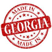 Made in georgia stamp — Stock Photo
