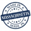 Made in massachusetts stamp — Stock Photo #26486139