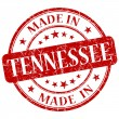 Stock Photo: Made in tennessee stamp