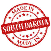 Made in south dakota stamp — Stock Photo