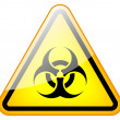 Stock Photo: Biohazard sign