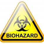 Biohazard sign — Stock Photo