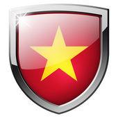 Vietnam shield — Stock Photo