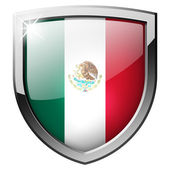 Mexico shield — Stock Photo