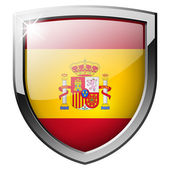 Spain shield — Stock Photo