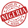Made in nigeria stamp — Stock Photo #27695065