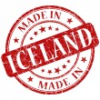 Stock Photo: Made in iceland stamp