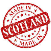 Made in scotland stamp — Stock Photo