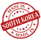 Made in south korea — Stock Photo