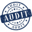 Audit stamp — Stock Photo