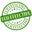 Eco effective stamp — Stock Photo #28161803