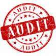 Audit Red stamp — Stock Photo