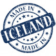 Made in iceland stamp — Stock Photo #28616969