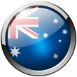 Australia Round Metal Glass Button — Stock Photo #29029309