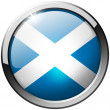 Stock Photo: Scotland Round Metal Glass Button
