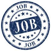 Job blue stamp — Stock Photo