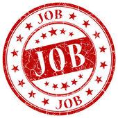Job red stamp — Stock Photo
