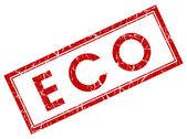Марка Красная площадь эко — Стоковое фото