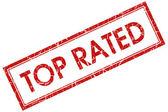 Najwyżej oceniane plac czerwony znaczek — Zdjęcie stockowe