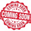 Coming Soon Grunge Stamp — Stock Photo #31051141