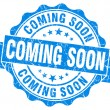 Coming Soon Grunge Stamp — Stock Photo #31051983