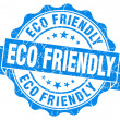 Stock Photo: Eco Friendly Grunge Stamp