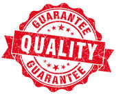 Quality Guarantee Grunge Stamp — Stock Photo
