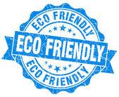 Eco Friendly Grunge Stamp — Stock Photo