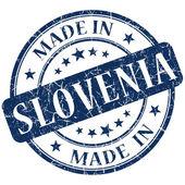 在斯洛文尼亚蓝色邮票 — 图库照片