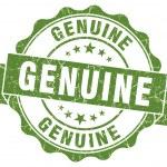 Genuine green grunge stamp — Stock Photo #32179197