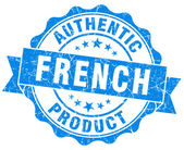 French product blue grunge stamp — Stock Photo