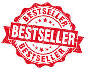 Sello rojo grunge bestseller — Foto de Stock