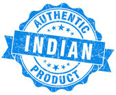 Indian product blue grunge stamp — Stock Photo