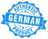 German product blue grunge stamp — Stock Photo