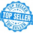 Stock Photo: Top Seller Grunge Stamp