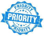 Sello de grunge de prioridad — Foto de Stock
