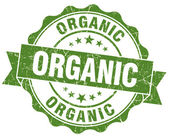 Sello orgánico grunge — Foto de Stock