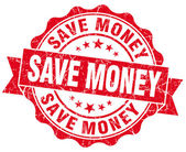 Save Money Grunge Stamp — Stock Photo