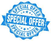 Oferta specjalna guma pieczęć — Zdjęcie stockowe