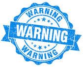 Warning Grunge Stamp — Stock Photo