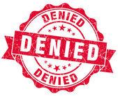 Denied red grunge stamp — Stock Photo