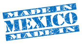 Made in Mexico grunge blue stamp — Stock Photo