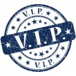 Vip grunge round blue stamp — Stock Photo